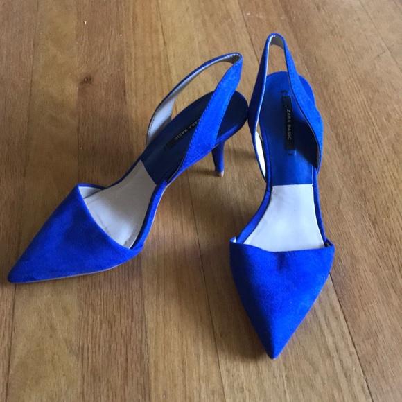 fb911a8826 Zara Blue Pointed Toe Heels. M_5cae1c16abe1cee569ad9ddf